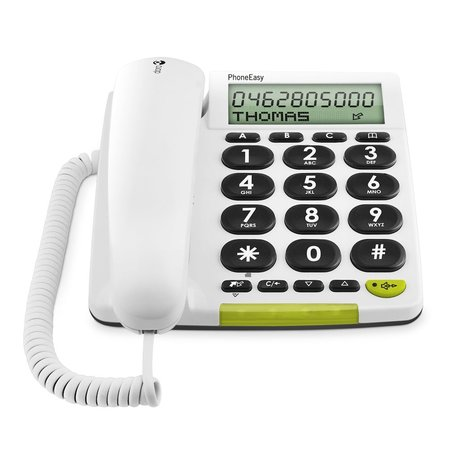 Doro Doro PhoneEasy 312cs Wit - Seniorentelefoon Met Grote Toetsen