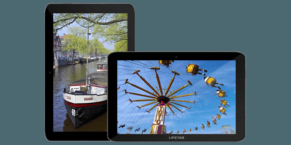 Foto's maken op uw SimTab - aangepast tablet