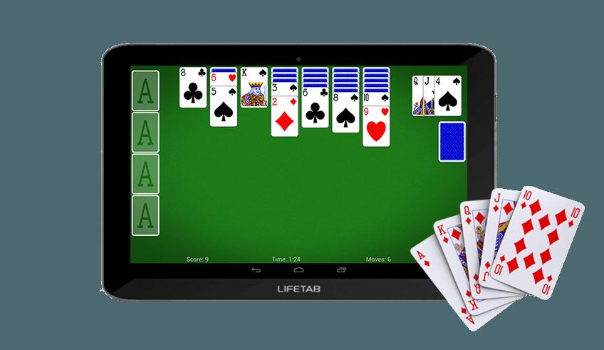 tablet voor senioren spelletjes spelen