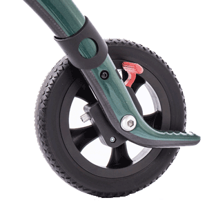 zachte banden carbon rollator