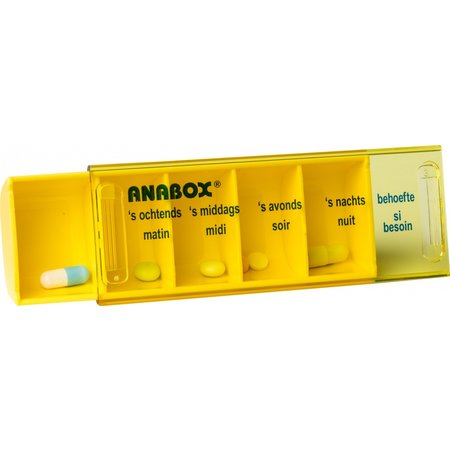 Anabox Anabox Medicijndoosje Per Dag