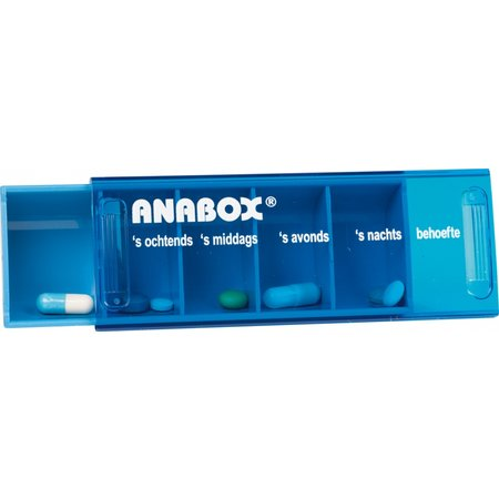 Anabox Anabox Medicijndoos 7 Dagen - Weekbox
