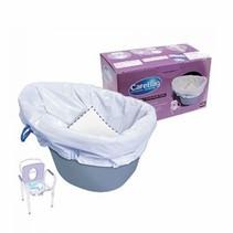Toiletstoelzak - Toiletemmer zak ( 20st )