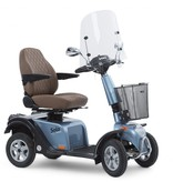 Life & Mobility Scootmobiel Solo 4 Blue Diamond Edition - Nieuw 2020