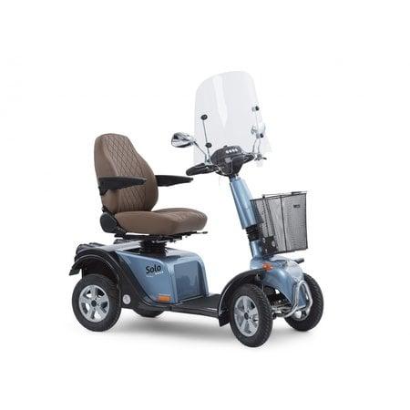 Life & Mobility Scootmobiel Solo 4 Blue Diamond Edition - Nieuw 2021