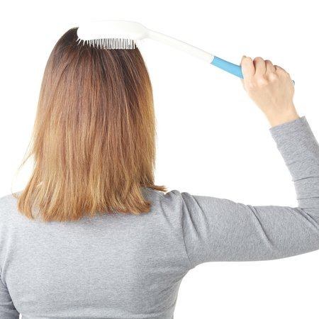 Vitility Vitility Haarborstel Met Verlengd Handvat