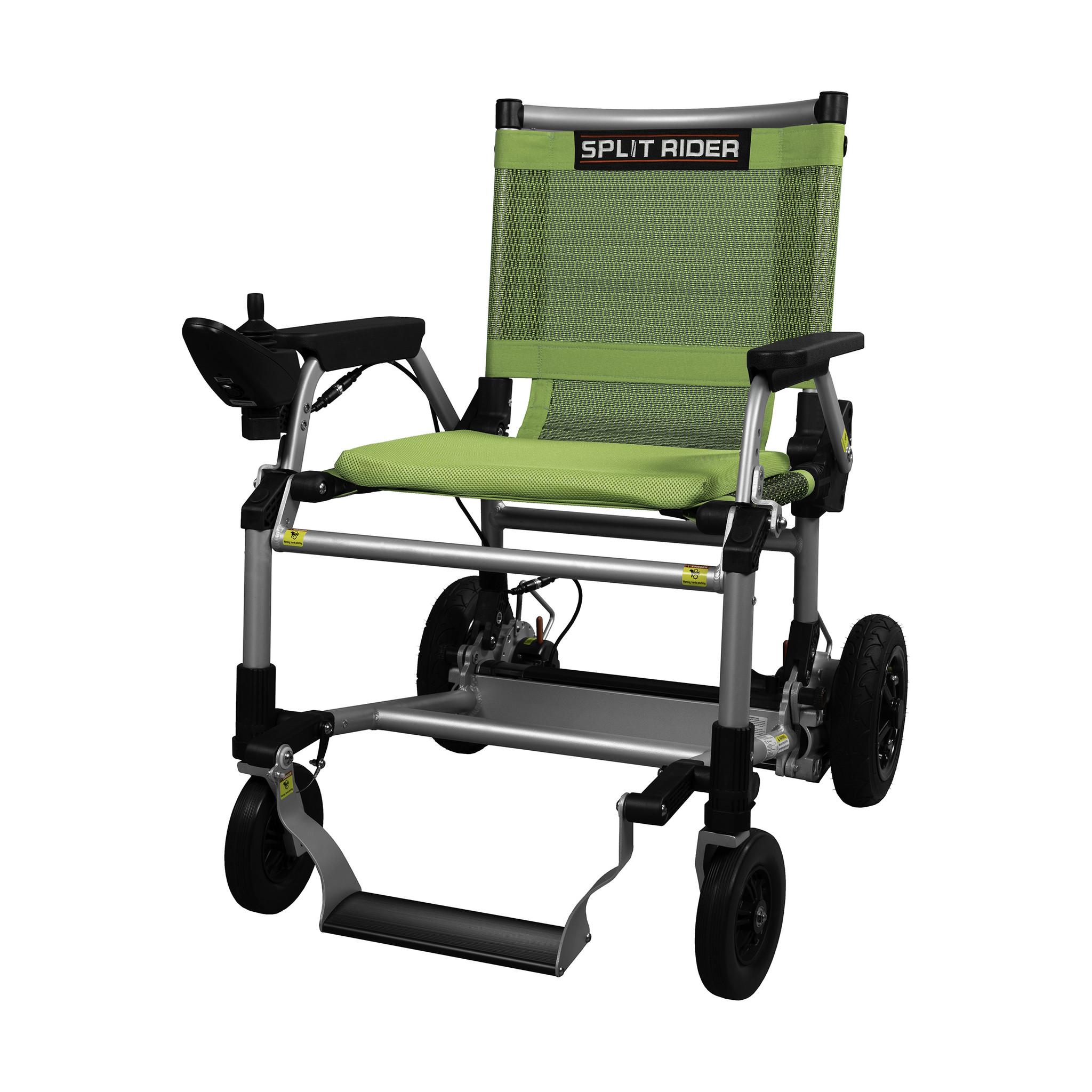 E-Ability Splitrider elektrische reis rolstoel