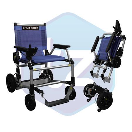 Splitrider elektrische opvouwbare rolstoel