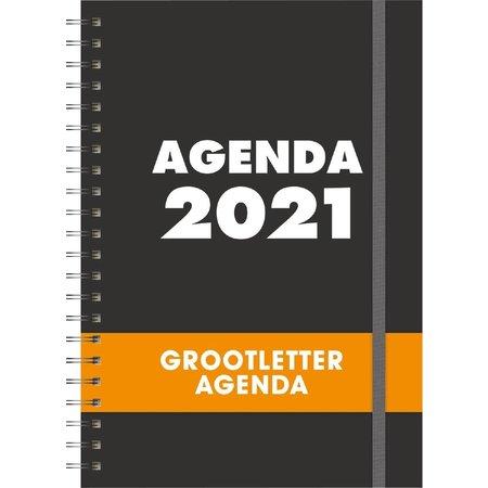 TZ TZ Grootletter Agenda A4 - 2021