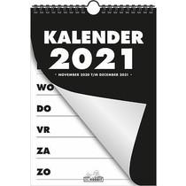 Grootletter Weekkalender A4 2021