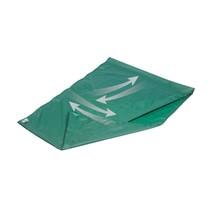 Glijzeil - Glijlaken Groen