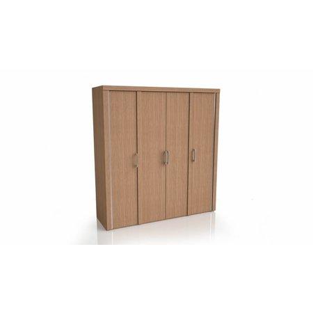 Garderobe Kast Mistral Eiken (draaideur)