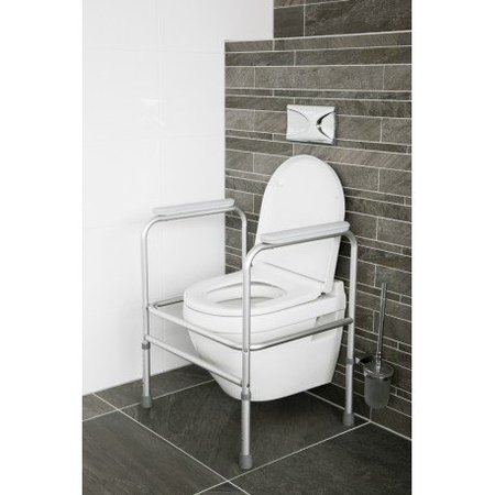 Atlantis Atlantis Toiletframe - Toiletsteun verstelbaar