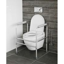 Toiletframe - Toiletsteun verstelbaar