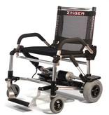 Zinger rolstoel Unieke Opvouwbare Elektrische Rolstoel Zinger - Zwart