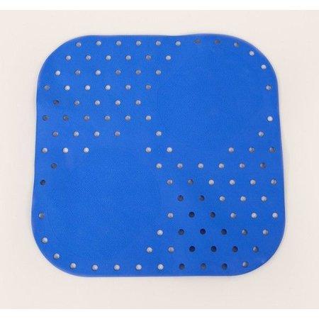 Able2 Douchemat Anti-Slip Blauw 54x54 cm