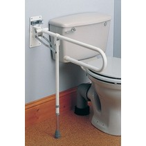 Toiletsteun Opklapbaar Met Verstelbare Poot