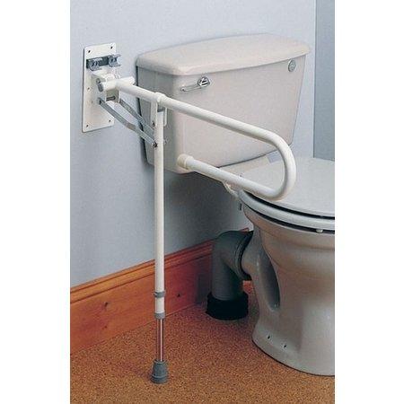 Homecraft Homecraft Opklapbare Toiletbeugel met Poot - Opsta Beugel