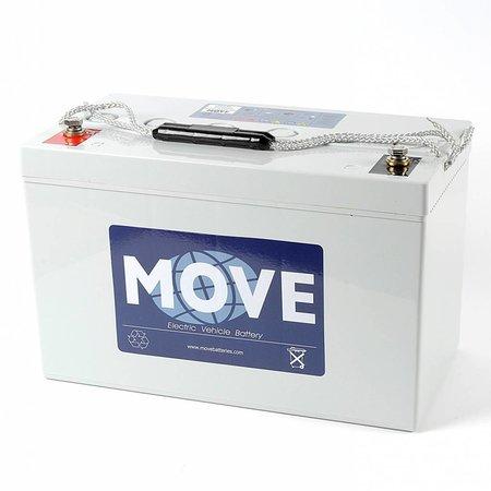 Move Move Scootmobiel Accu - AMG  12 Volt 105 Ah