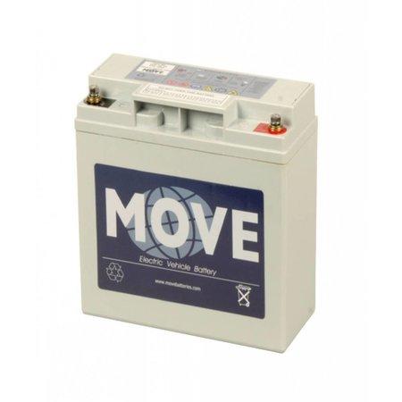 Move Opvouwbare Scootmobiel Accu 12V 20Ah