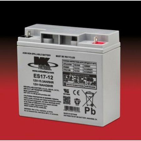 MK Scootmobiel Accu - Batterij 12 Volt 18Ah