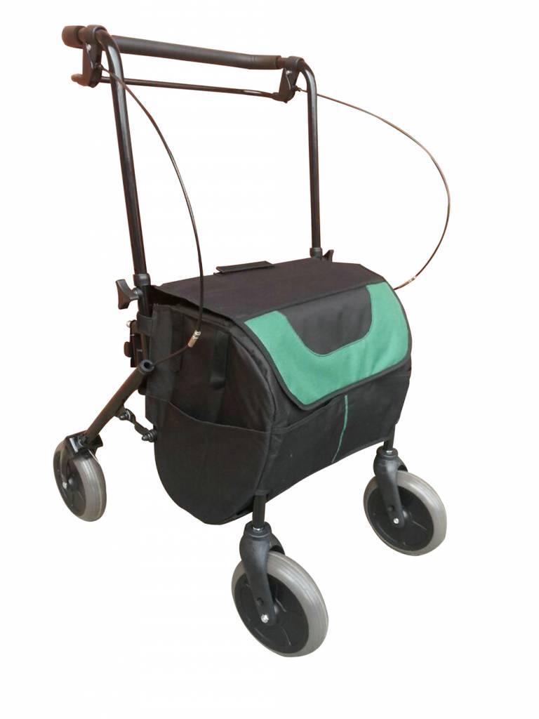Boodschappen rollator met grote tas