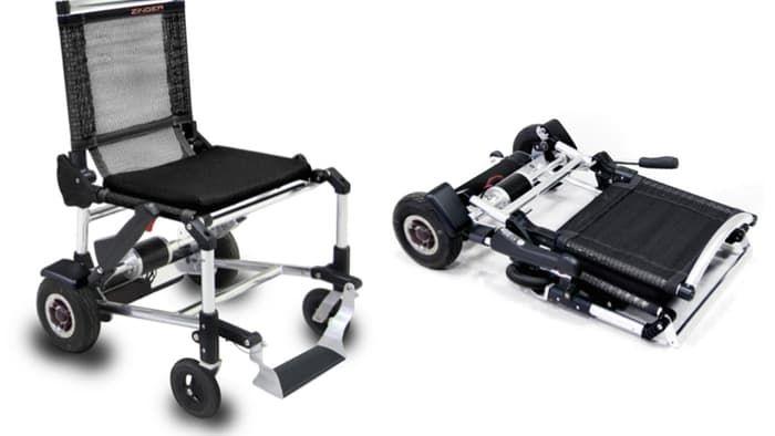 Zinger Opvouwbare elektrische rolstoel