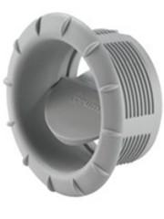 Truma Truma eindrooster met draaibare klep EN grijs