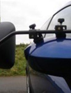 Milenco spiegel vlak glas Grand aero 2 stuks