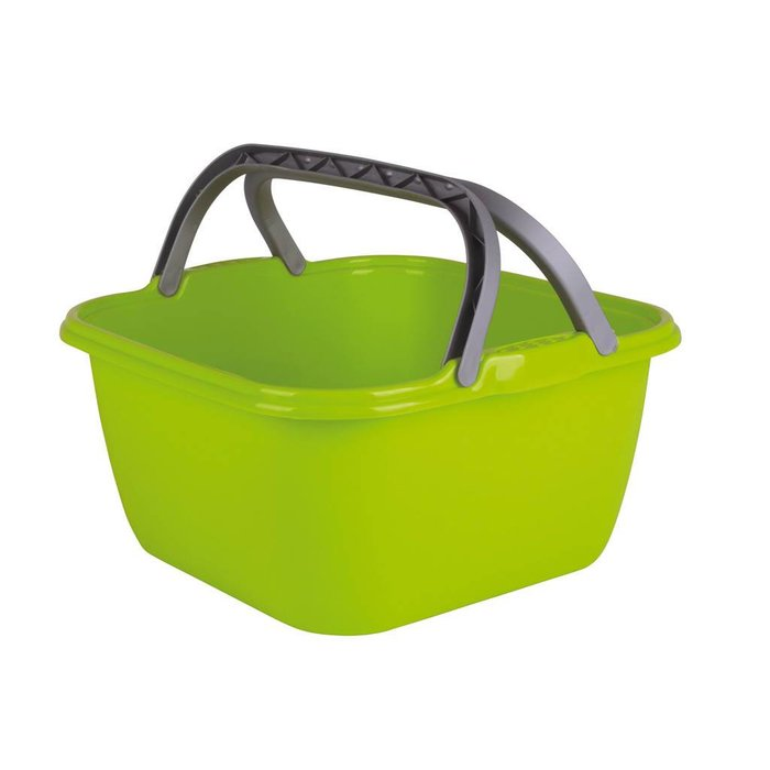 Wasbak vierkant groen