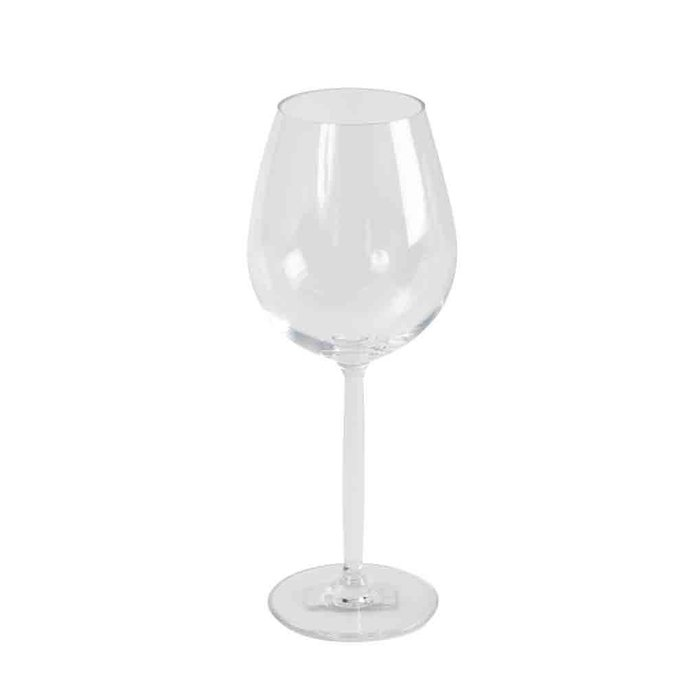 Rood wijnglas