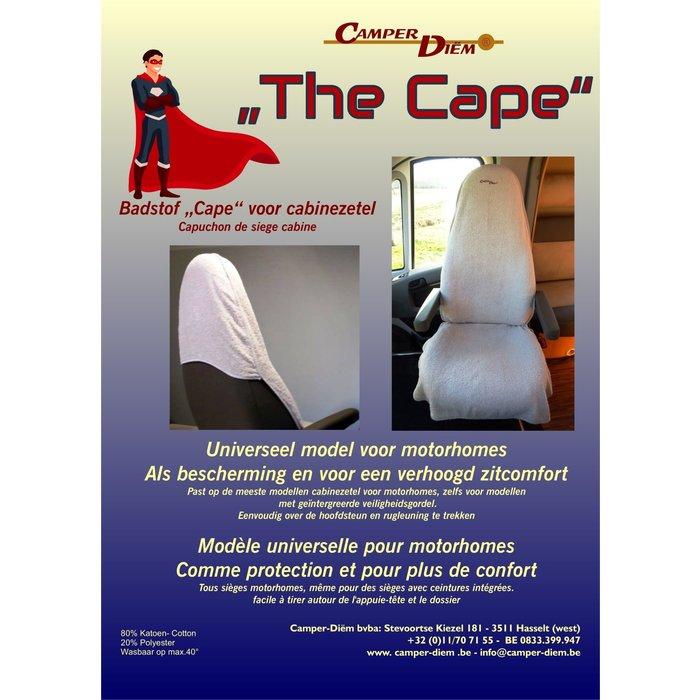 Camper Diem Badstof cape voor cabinezetel motorhome