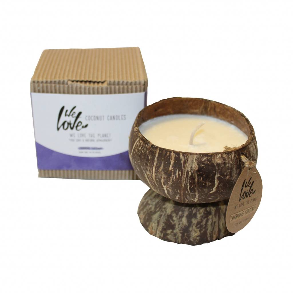 We Love The Planet Soya Wax Charming Chestnut
