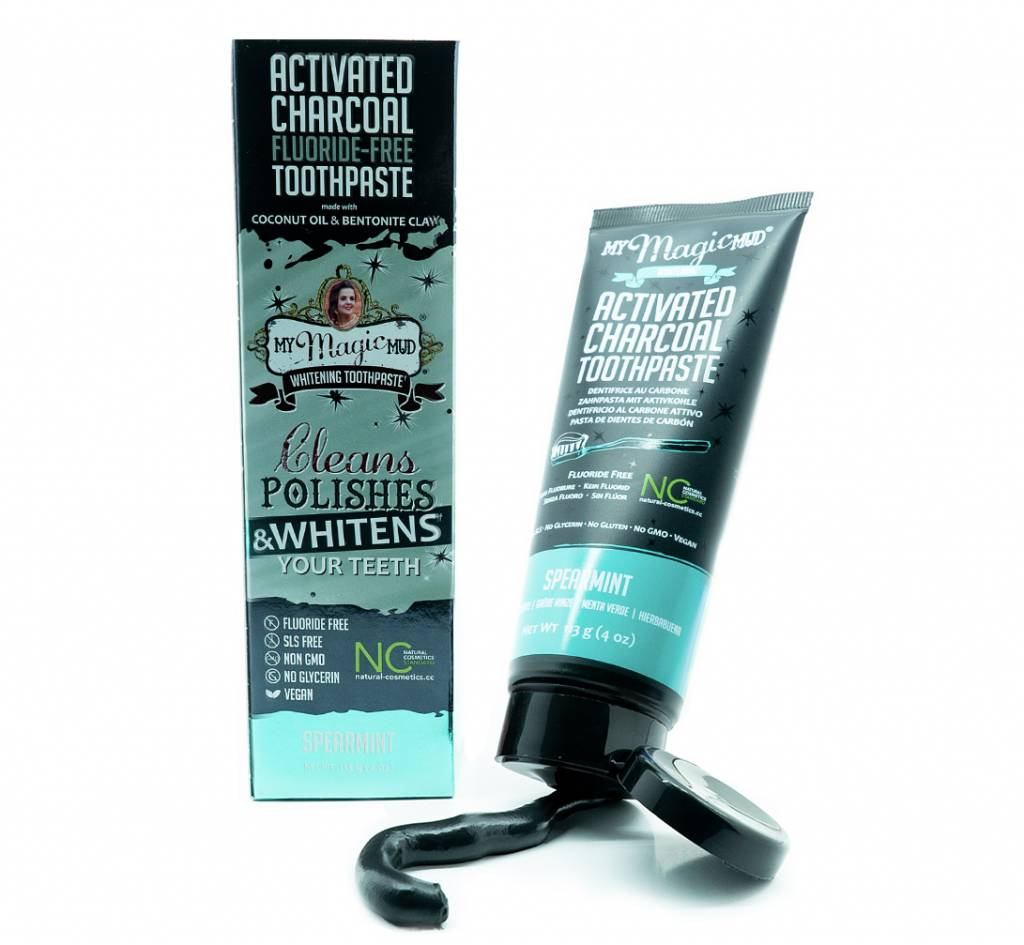 My Magic Mud Activated Charcoal Tooth Paste Spearmint