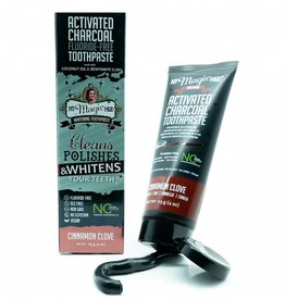 My Magic Mud Activated Charcoal Tooth Paste Cinnamon