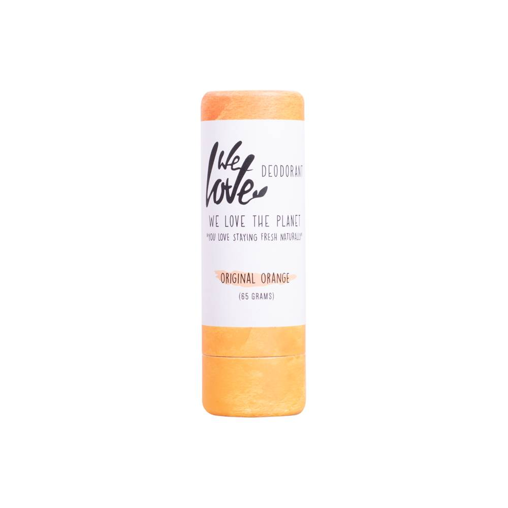 We Love The Planet Deodorant stick Original Orange