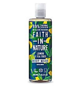 Faith in Nature Lemon & Tea Tree Bath & Showergel
