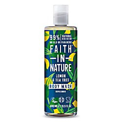 Faith in Nature Lemon & Tea Tree Bath & Showergel