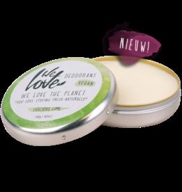 We Love The Planet Natural deodorant Luscious Lime (vegan)