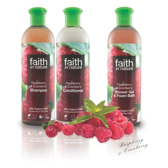 Faith in Nature Raspberry & Cranberry Shampoo