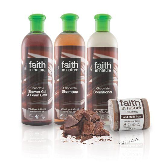 Faith in Nature Chocolate Bath & Shower Gel
