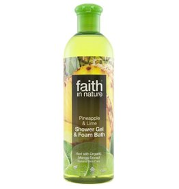 Faith in Nature Pineapple & Lime Bath & Shower Gel