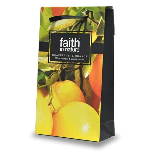 Faith in Nature Grapefruit & Orange Giftset