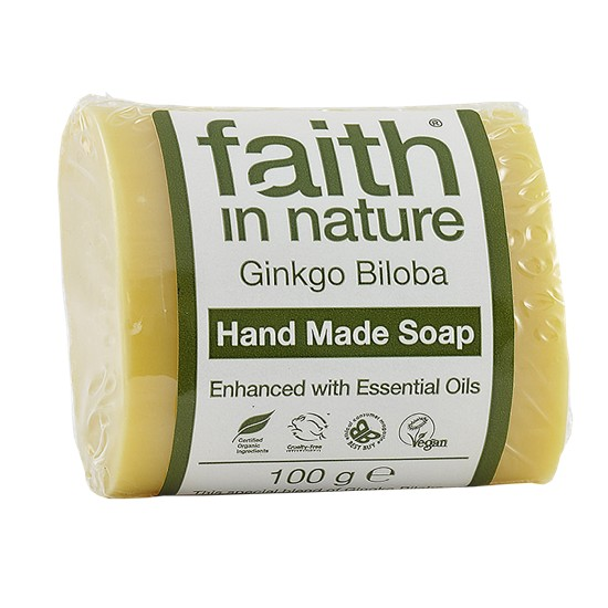 Faith in Nature Ginkgo Soap