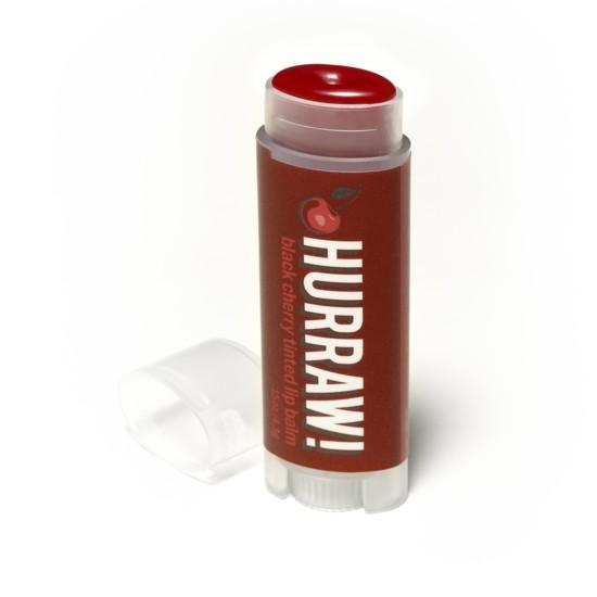 Hurraw! Black Cherry Tinted Lip Balm