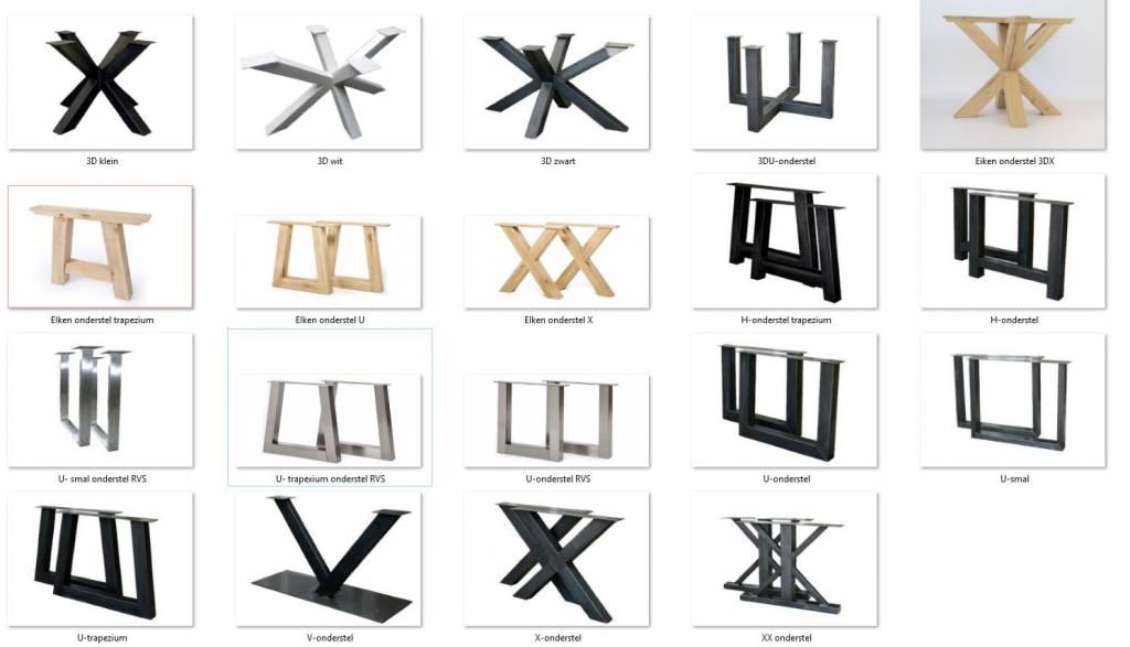 Uw eiken tafel zelf creëren? Stel hier uw tafel samen-4