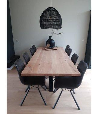 Ontwerp je eigen rechthoekige tafel | Eiken