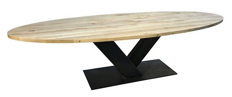 Industriele tafel   Eiken blad   Veghel-2