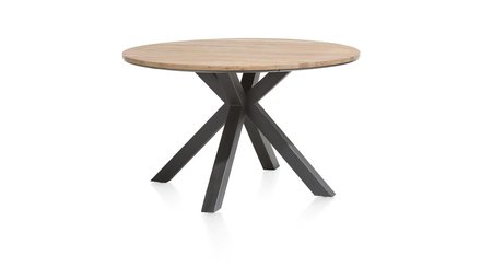 Ronde eiken tafels
