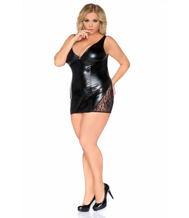 Andalea LATEX LOOK SEXY DRESS